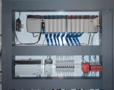 Electrical Control Panel Assembly for Large Steel Manufacturing - 1