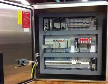 Filler Safety Upgrade, Allen Bradley, Low Voltage Control Panel, 36 X 36 Control Panel, Self Certifying UL508A