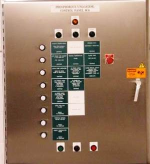 Chemical Processing Application, Life Sciences, Operator Panel, Push Button Station